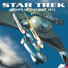 Star Trek 2013 Wall Calendar: Ships of the Line