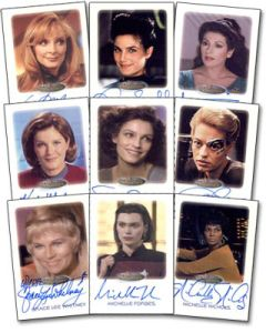Star Trek - The Woman of Star Trek Trading Cards