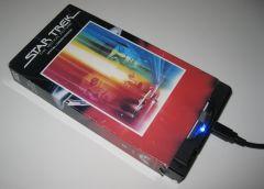 ビデオテープ風HDD